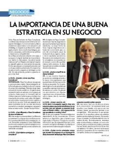 Entrevista: La importancia de una buena estrategia en su negocio